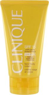 Köp Clinique Face/Body Cream SPF 15, 150ml Clinique Solskydd fraktfritt