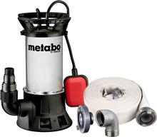 Metabo PS18000SN Smutsvattenpump med slang och koppling