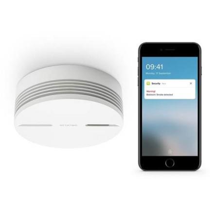 Netatmo Smart WiFi brandvarnare - Vit