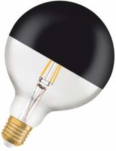 Osram Vintage 1906 Glob Ø125 mm LED 7W/827 (52W) E27 - Top svart