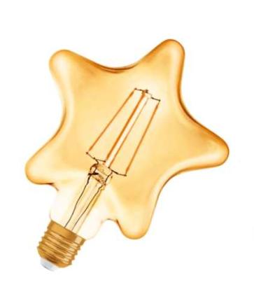 Osram Vintage 1906 Star LED 4,5W/825 (40W) E27 - Guld
