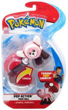 Pop Action Poke Ball Stufful + Throw Pokeball plush -