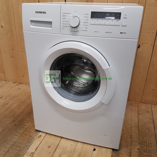 Siemens iQ100 vaskemaskine WM14B216DN/01 *6kg *1400rpm *A+ *Lydniveau 59dB