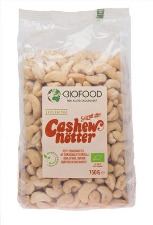 Biofood Cashewnötter 750 g