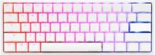 One 2 Mini 2020 Pure White - Cherry Brown RGB - ND - Gaming Tastatur - Uden Numpad - Nordisk - Hvid