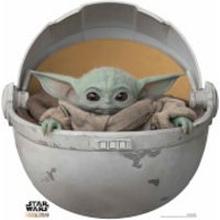 The Mandalorian - The Child Baby Yoda In Pod Mini Cardboard Cut Out