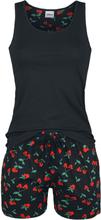 Mickey Mouse - Cherry Mouse -Pyjamas - svart
