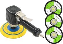vidaXL Tryckluftsdriven excenterslip med handtag och slipskivor 150 mm