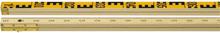Hultafors 701 RG1 N2 Nivåstång solid träkärna 2 m