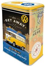 Plåtburk Kaffeburk VW 'Let's Get Away!'