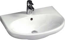 Gustavsberg Tvättställ Nautic 5560 Med Blandarhål Med C+