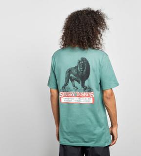 Stussy King T-skjorta, Grön