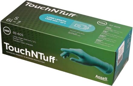 Ansell Korttidshandske TouchNTuff 92-600 Puderfri - 100 st -8
