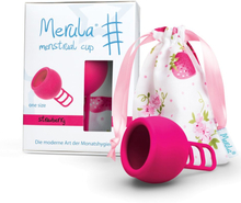 Merula Cup - Menstruationstasse - Onesize (38ml) - Strawberry (Pink)