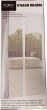 Hyönteisverkko-ovi 100x220 hyönteissuoja, valkoinen magneetti hyttysverkko