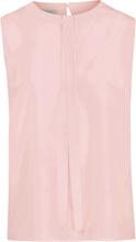 Ärmlös blus i 100% silke från Uta Raasch rosa