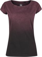 Outer Vision - Marylin -T-skjorte - grå, vinrød