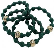Hermine Hold Elastic Hair Tie 4-p Green