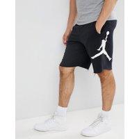 Nike - Jordan Air Svarta shorts i fleece AQ 3115-010 - Svart