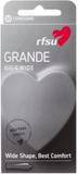 RFSU Grande Condoms 10-pack Kondomer Transparent