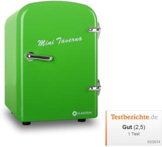 Bella Taverna kylskåp kyl-/varmhållningsbox mini 4 liter grön