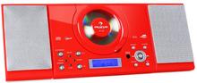 MC-120 stereo MP3-CD-spelare USB röd