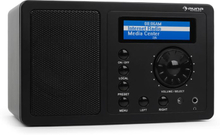 IR-130 internetradio wifi streaming svart