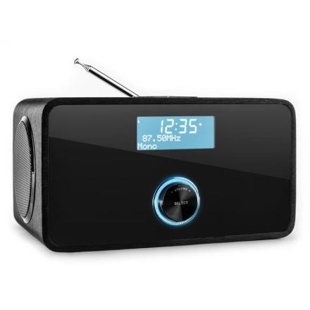 DABStep DAB/DAB+ digitalradio Bluetooth FM/MV RDS väckarklocka