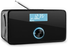 DABStep DAB/DAB+ digitalradio Bluetooth FM/MV RDS väckarklocka