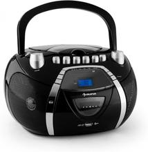 Beeboy radiorekorder CD MP3 USB svart