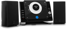 Vertical 70 stereoanläggning CD USB MP3 AUX svart