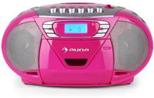 KrissKross Bergsprängare USB MP3 CD rosa