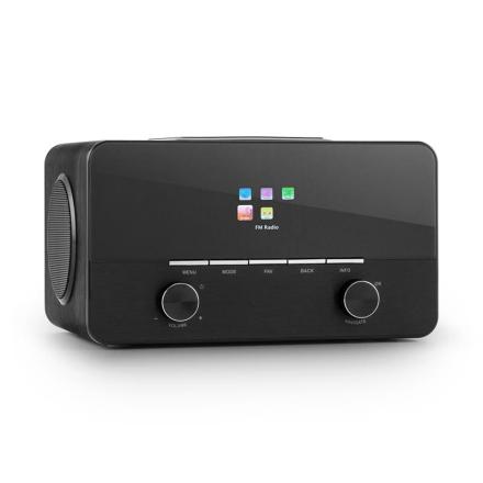 Connect 150 BK 2.1-Internetradio mediaplayer WLAN LAN USB DAB+ FM