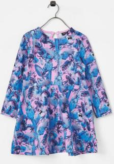 Kjole med trykt mønster