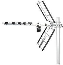 Nedis TV-antenn för utomhusbruk | Max. förstärkning 12 dB | UHF: 470 - 694 MHz | 8 komponenter