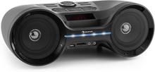 Boombastic bluetooth-bergsprängare USB SD MP3 AUX FM LED