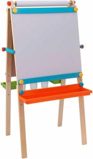 KidKraft Kidkraft Staffli för barn med målarpapper trä 62026