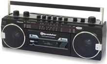 Roadstar RCR3025EBT Kassettbandspelare BT/ Svart