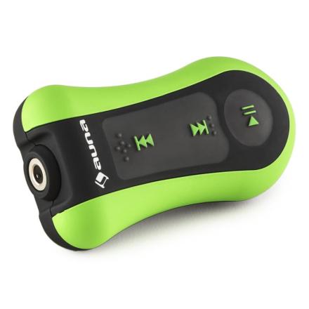 Hydro 8 MP3-Player gön 8 GB IPX-8 vattentät Clip inkl. Hörlurar
