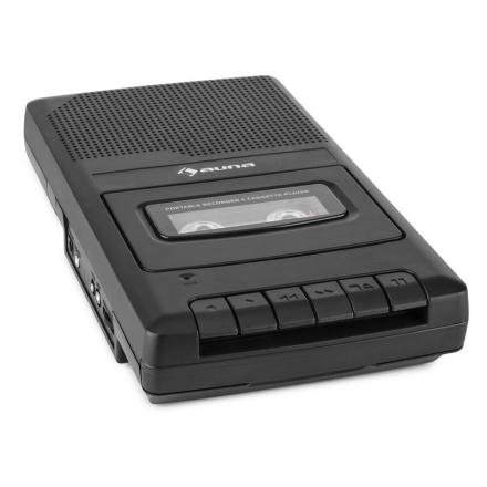 RQ-132 Portabel Kassettbandspelare Dikteringsapparat Recorder Mikrofon