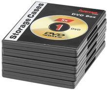 Hama Dvd-box Svart 5-pack Svart