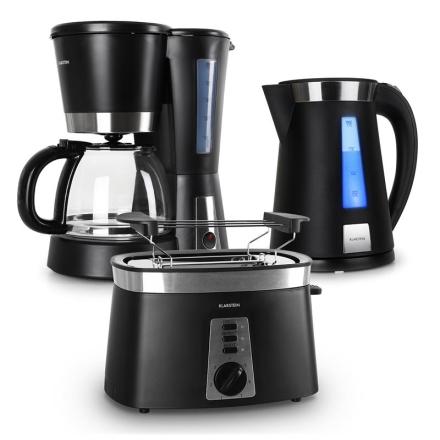 Sunday Morning Frukostset Kaffekokare & Vattenkokare & Toaster