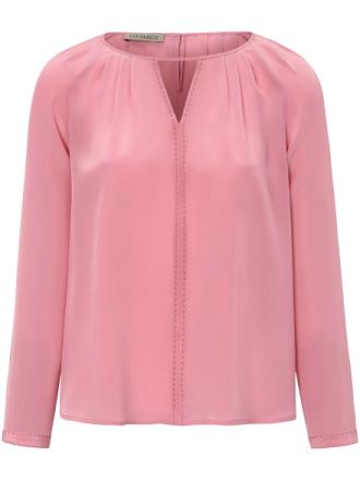 Blus i 100 % silke från Uta Raasch rosa