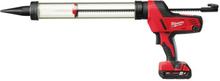 Milwaukee C18 PCG/600A-201B Fogpistol med batteri och laddare