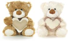 Brun & Vit nalle med hjärta, Teddykompaniet