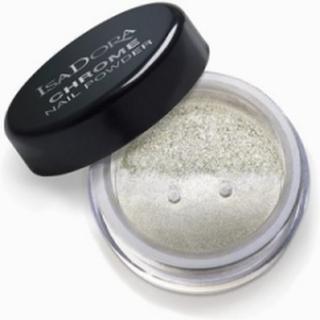 Isadora Chrome Nail Powder Nagellack Silver Mirror