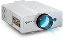 LED-projektor auna EH3WS kompakt HDMI vit