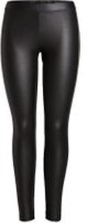 PIECES Shiny Leggings Kvinder Sort