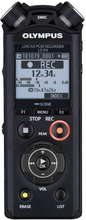 Olympus LS-P4 Black Linear PCM Recorder incl. Ni-MH battery and Tripod att. adapter