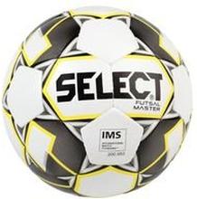 Select Jalkapallo Futsal Master Grain - Valkoinen/Keltainen/Musta